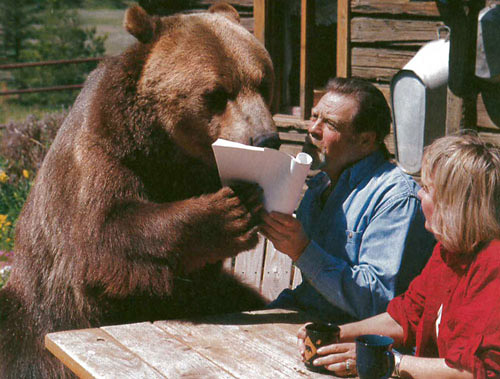 bart the bear in an unfinished life